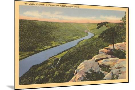Grand Canyon of Tennessee, Chattanooga--Mounted Art Print