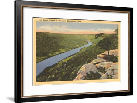 Grand Canyon of Tennessee, Chattanooga--Framed Art Print