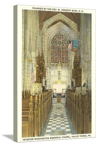 Memorial Chapel, Valley Forge--Stretched Canvas Print