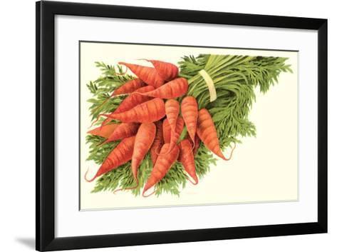 Bunch of Carrots--Framed Art Print