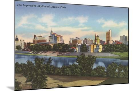 Impressive Skyline, Dayton--Mounted Art Print