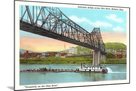 Interstate Bridge, Bellaire--Mounted Art Print