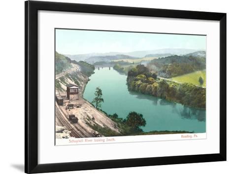 Shuykill River, Reading--Framed Art Print