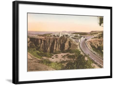 Torrey Pines Lodge--Framed Art Print