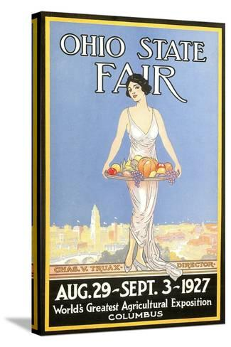 Ohio State Fair Poster, Columbus--Stretched Canvas Print