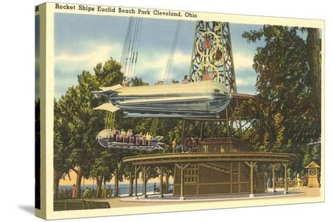 Ride, Euclid Beach Park, Cleveland--Stretched Canvas Print