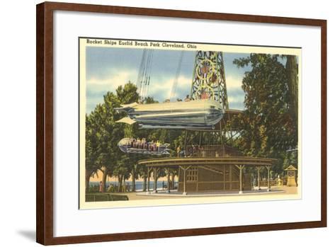 Ride, Euclid Beach Park, Cleveland--Framed Art Print