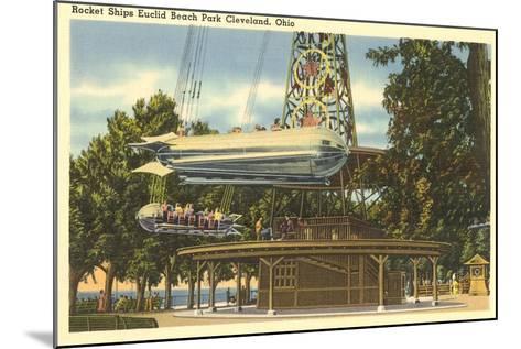 Ride, Euclid Beach Park, Cleveland--Mounted Art Print