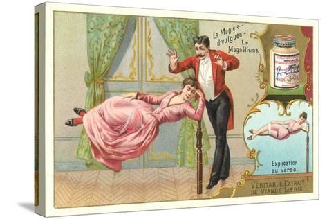 Magic Hypnotism Act--Stretched Canvas Print