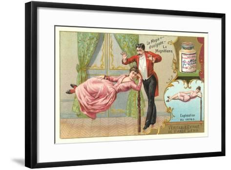 Magic Hypnotism Act--Framed Art Print