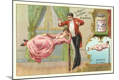Magic Hypnotism Act--Mounted Art Print