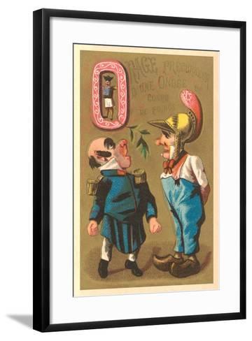 O, Orage Precourseur--Framed Art Print