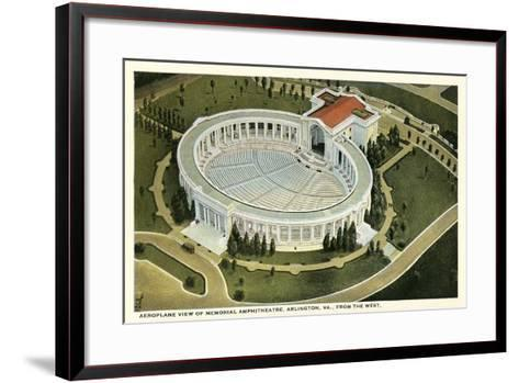 Overview of Arlington Amphitheatre--Framed Art Print