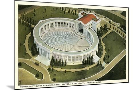 Overview of Arlington Amphitheatre--Mounted Art Print