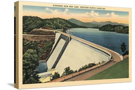 Hiwassee Dam, Western North Carolina--Stretched Canvas Print