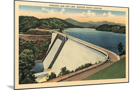Hiwassee Dam, Western North Carolina--Mounted Art Print