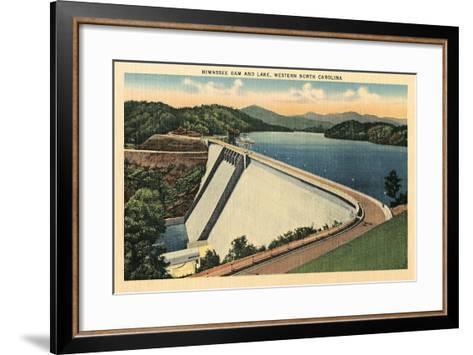 Hiwassee Dam, Western North Carolina--Framed Art Print