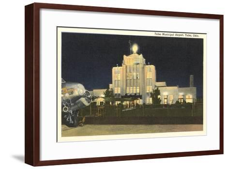 Tulsa Municipal Airport--Framed Art Print