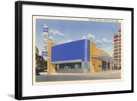Union Bus Staion, Oklahoma City--Framed Art Print