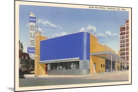 Union Bus Staion, Oklahoma City--Mounted Art Print