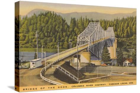 Bridge of the Gods, Cascade Locks--Stretched Canvas Print