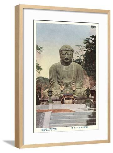 Japanese Buddha--Framed Art Print