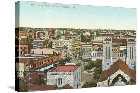 Overview of San Antonio--Stretched Canvas Print