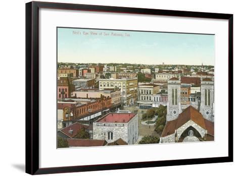 Overview of San Antonio--Framed Art Print