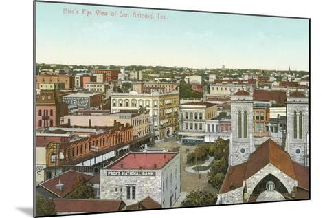 Overview of San Antonio--Mounted Art Print