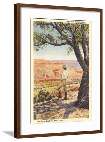 Palo Duro, Triassic Mesa--Framed Art Print