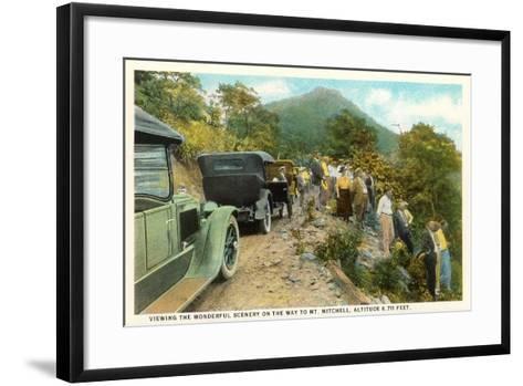 Road to Mt. Mitchell--Framed Art Print