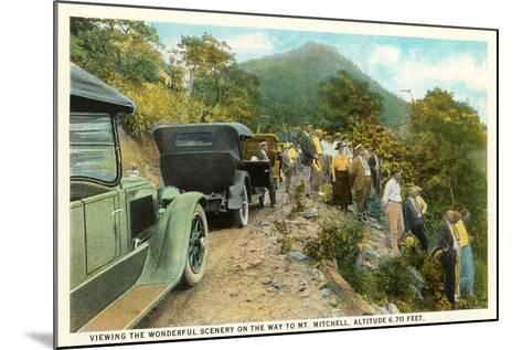 Road to Mt. Mitchell--Mounted Art Print
