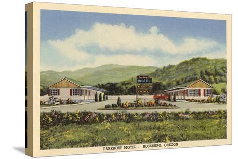 Parkrose Motel, Roseburg--Stretched Canvas Print