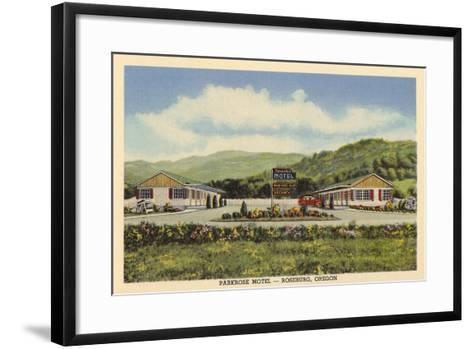 Parkrose Motel, Roseburg--Framed Art Print