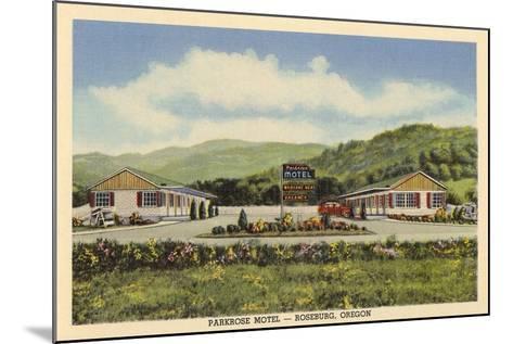 Parkrose Motel, Roseburg--Mounted Art Print