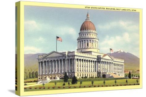 State Capitol, Salt Lake City--Stretched Canvas Print