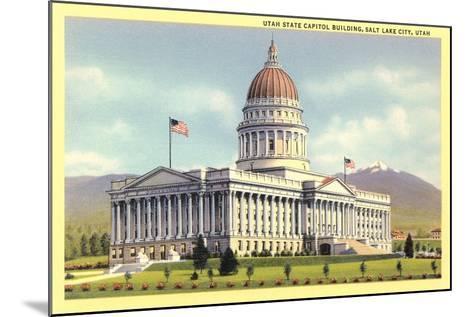State Capitol, Salt Lake City--Mounted Art Print
