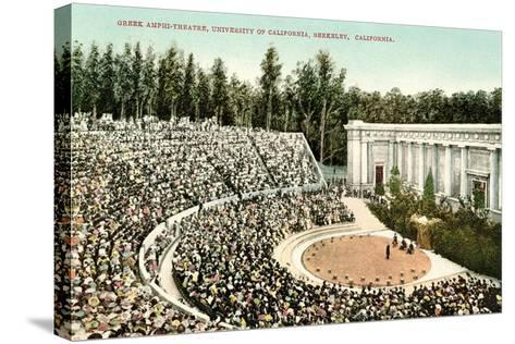 Greek Amphitheatre, Berkeley--Stretched Canvas Print