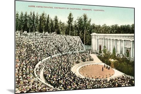 Greek Amphitheatre, Berkeley--Mounted Art Print