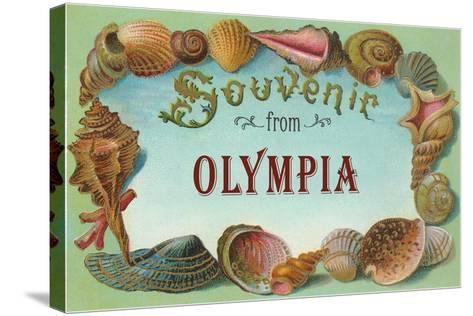 Souvenir from Olympia--Stretched Canvas Print