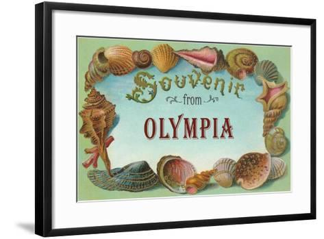 Souvenir from Olympia--Framed Art Print