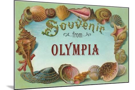Souvenir from Olympia--Mounted Art Print