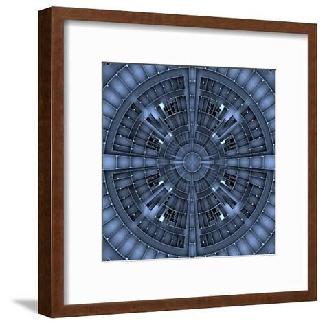 Architectural Background Basis- NesaCera-Framed Art Print