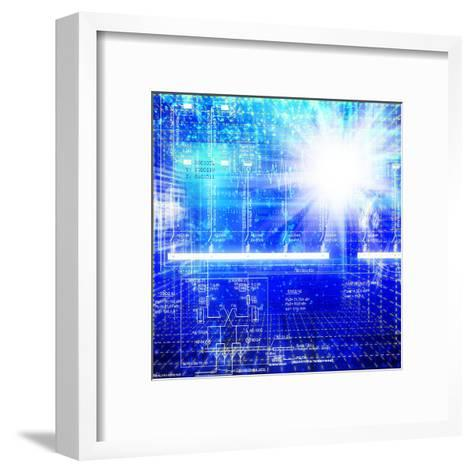 Solar Electric Power Industry-Alex150770-Framed Art Print