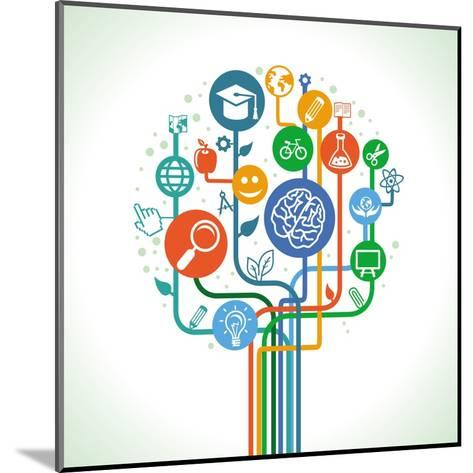 Education and Science-venimo-Mounted Art Print
