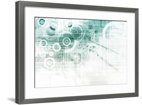 Schematics-kentoh-Framed Art Print