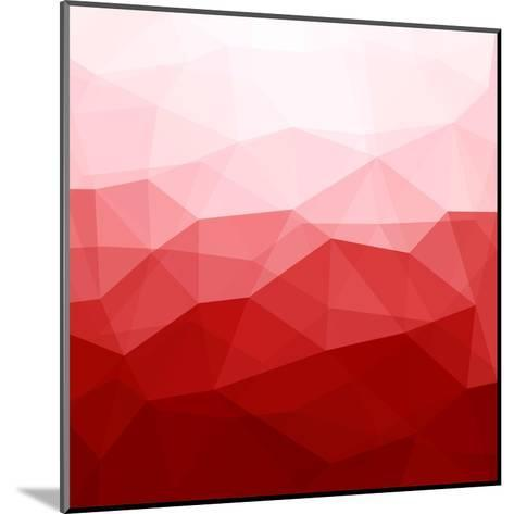 Abstract Red Background-epic44-Mounted Art Print