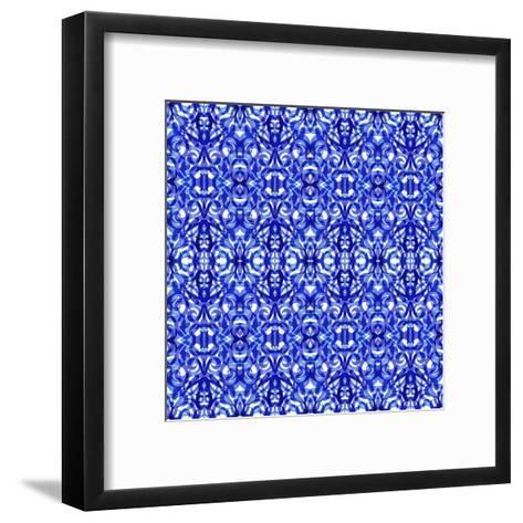Kaleidoscope Texture Pattern-Medusa81-Framed Art Print