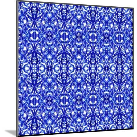Kaleidoscope Texture Pattern-Medusa81-Mounted Art Print