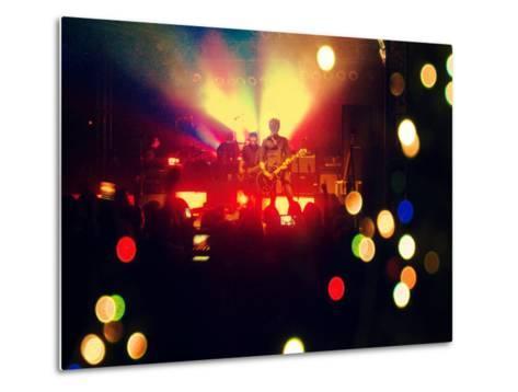 A Concert Shot-graphicphoto-Metal Print
